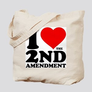 I Heart the 2nd Amendment Tote Bag