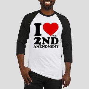 I Heart the 2nd Amendment Baseball Jersey