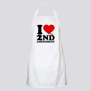 I Heart the 2nd Amendment Apron