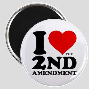 I Heart the 2nd Amendment Magnet
