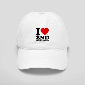 I Heart the 2nd Amendment Cap