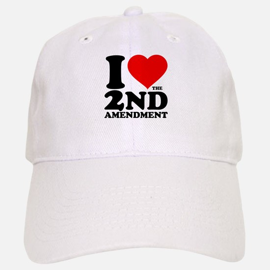 I Heart the 2nd Amendment Baseball Baseball Cap