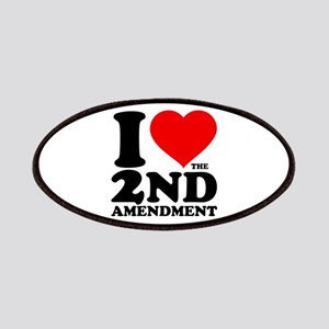 I Heart the 2nd Amendment Patches