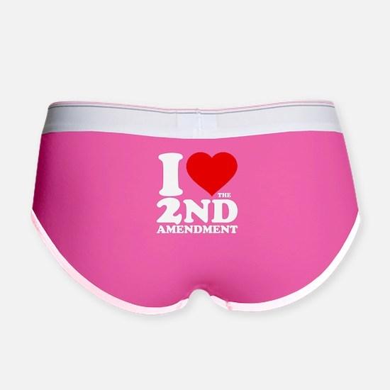 I Heart the 2nd Amendment Women's Boy Brief