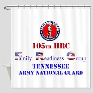 105th FRG and ARNG Shower Curtain