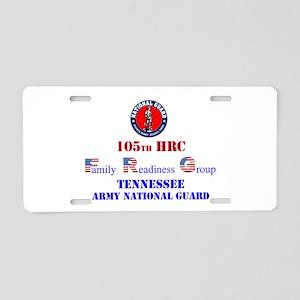 105th FRG and ARNG Aluminum License Plate