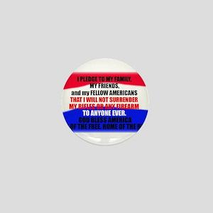 Second Amendment Pledge Mini Button