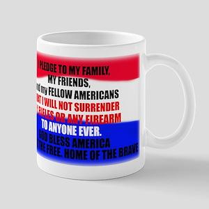 Second Amendment Pledge Mug