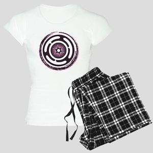Purple Hecate's Wheel Women's Light Pajamas