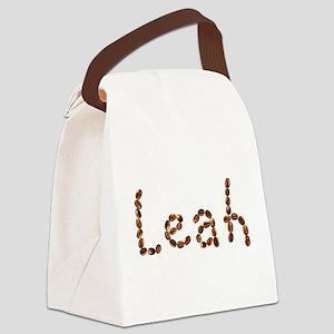 Leah Coffee Beans Canvas Lunch Bag