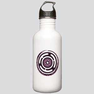 Purple Hecate's Wheel Stainless Water Bottle 1.0L