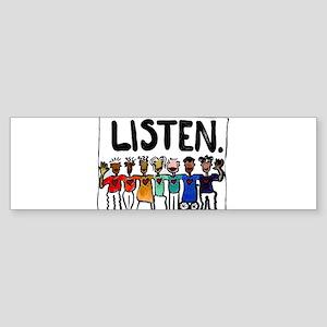 Listen Sticker (Bumper)