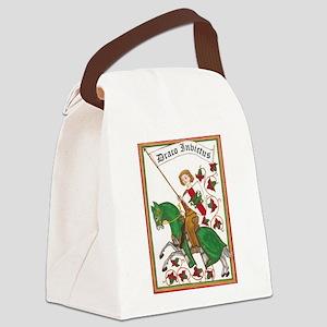 Draco Invictus Canvas Lunch Bag