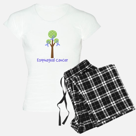 Esophageal Cancer Tree Pajamas