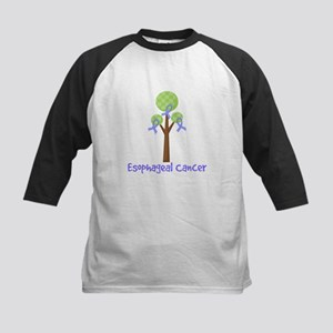 Esophageal Cancer Tree Kids Baseball Jersey
