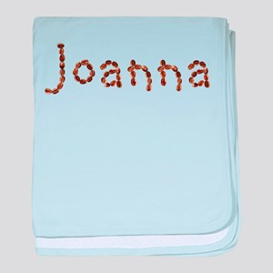Joanna Coffee Beans baby blanket
