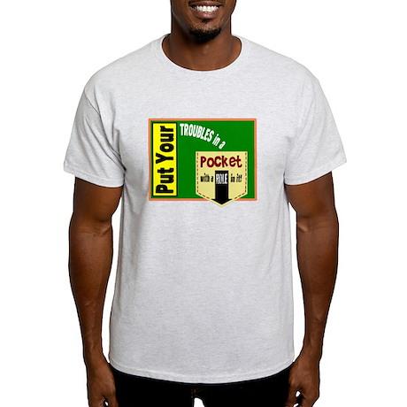Pocket With A Hole/t-shirt Light T-Shirt