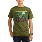 Reindeer Games Organic Men's T-Shirt (dark)