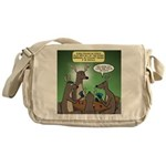 Reindeer Games Messenger Bag