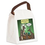Reindeer Games Canvas Lunch Bag
