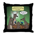 Reindeer Games Throw Pillow