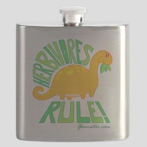 Herbivores Rule! Flask