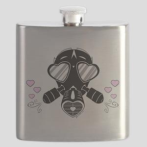 Love Mask Flask