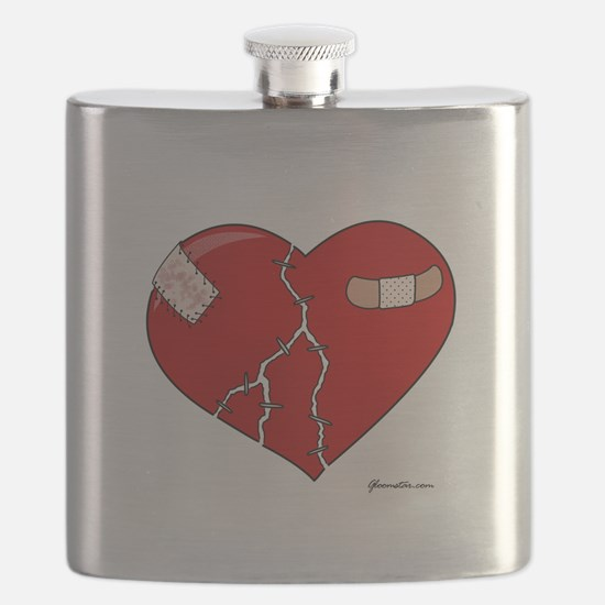 Trusting Heart Flask