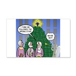 Wisemen in NY 20x12 Wall Decal