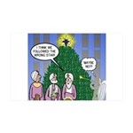 Wisemen in NY 35x21 Wall Decal