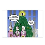 Wisemen in NY Postcards (Package of 8)