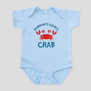 MomMom's Favorite Crab Infant Bodysuit