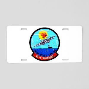 VF 1 Wolfpack Commemorative Aluminum License Plate