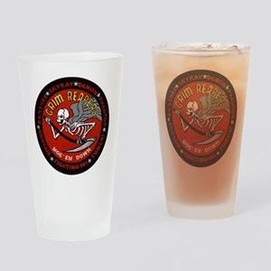 VF 101 Grim Reapers Drinking Glass