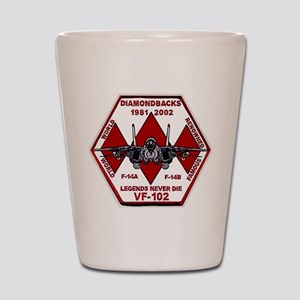 VF 102 Diamondbacks Commemorative Shot Glass
