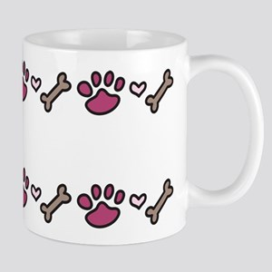 Dog Border Mug