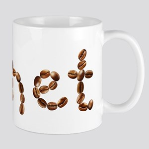 Janet Coffee Beans Mug