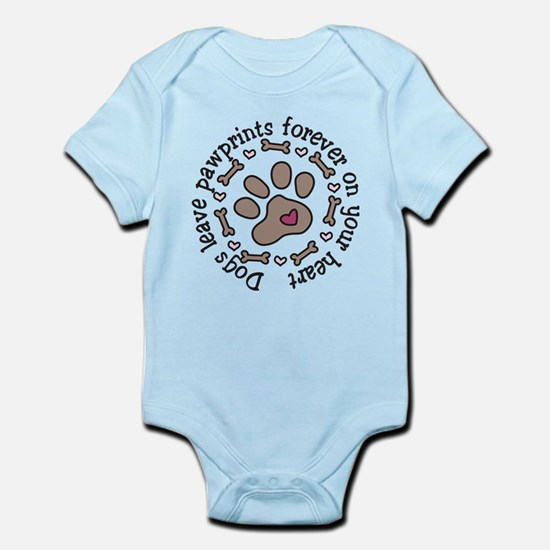 Pawprints Infant Bodysuit