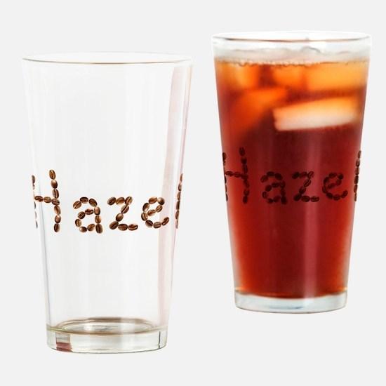 Hazel Coffee Beans Drinking Glass