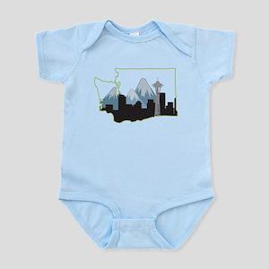 Washington State Infant Bodysuit