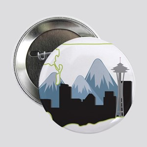 "Washington State 2.25"" Button"