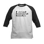 I Read Banned Books Kids Baseball Jersey