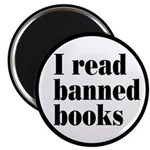 """I Read Banned Books 2.25"""" Magnet (10 pack)"""