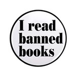 "I Read Banned Books 3.5"" Button"