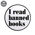 """I Read Banned Books 3.5"""" Button (10 pack)"""