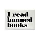 I Read Banned Books Rectangle Magnet (10 pack)