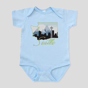 Seatle Infant Bodysuit