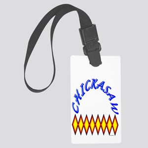 CHICKASAW Large Luggage Tag