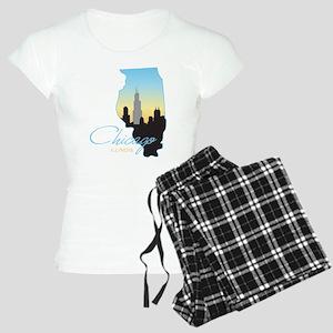 Chicago Illinois Women's Light Pajamas