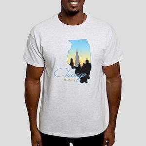 Chicago Illinois Light T-Shirt